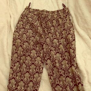 Medium cute pants high rise